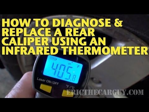 39 best automotive tutorial images on pinterest ford explorer car how to diagnose and replace a rear caliper using an infrared thermometer ericthecarguy fandeluxe Image collections