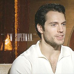 Henry Cavill. Gifs  via A MAN CAN FLY