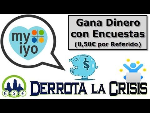 Myiyo, Ganar Dinero por Rellenar Encuestas desde Casa | 1€ y 4€ por Encuesta y 0,5€ por Referido  >> Registrate Gratis Aqui: http://www.derrotalacrisis.com/myiyo-encuestas-pagadas-para-todos-los-paises/?afiliado=marketingcontentnet #Myiyo #GanarDinero #encuestas