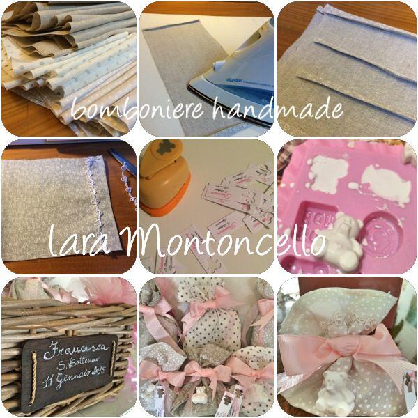 Bomboniere handmade - making of - Lara Montoncello