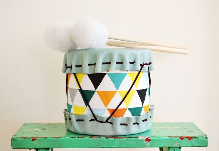 Darling handmade drum