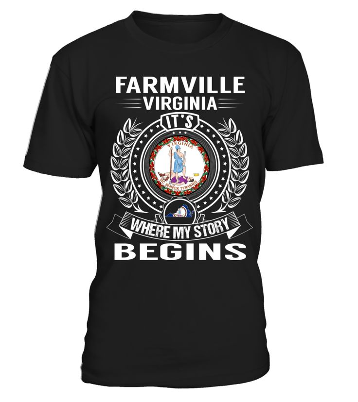 Farmville, Virginia - My Story Begins