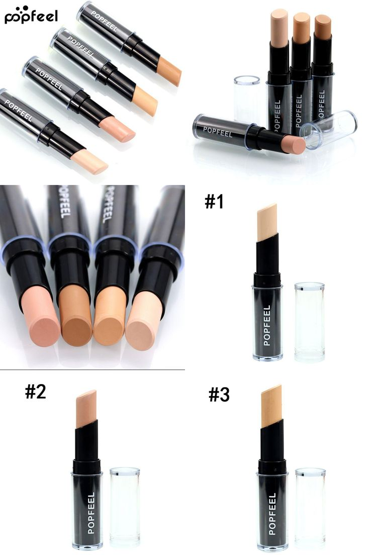 [Visit to Buy] Face Foundation Singal Head Concealer Makeup Camouflage Concealer Natural Full Cover Smooth Contour Concealer #Advertisement