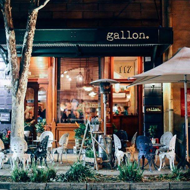 gallon. falafel and stuff