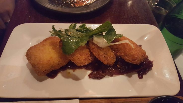 Pulled pork croquettes