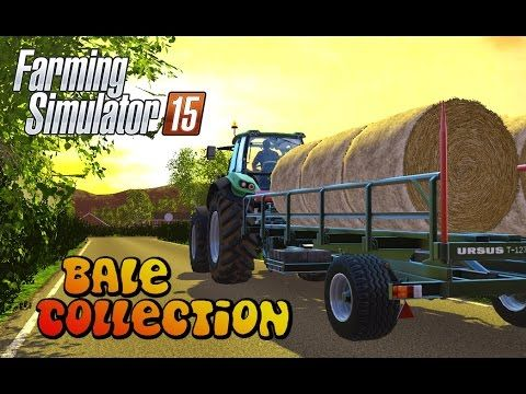 Let's Play Farming Simulator 2015 | Bale Collection | Episode 14