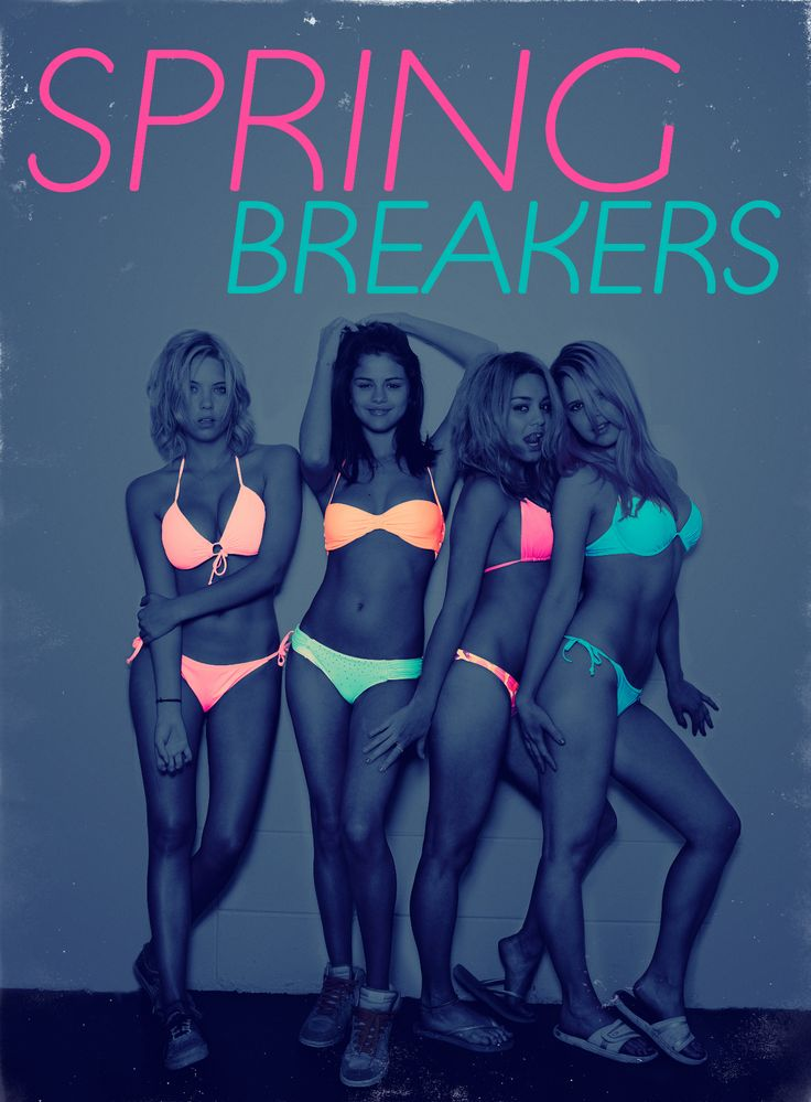 Spring Breakers Alternative Poster #SpringBreakers