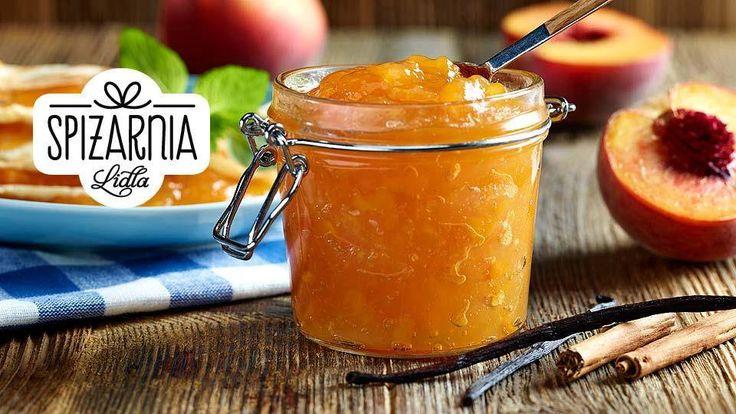 Masz ochotę na dżem brzoskwiniowy z nutą wanilii i cynamonu? Sprawdź nasz przepis ze Spiżarni Kuchni Lidla!
