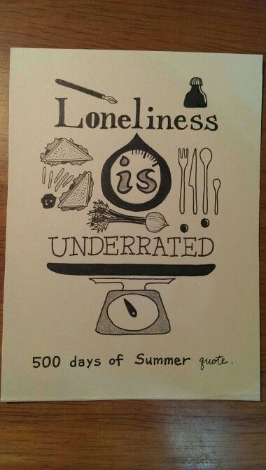 Loneliness is underrated.