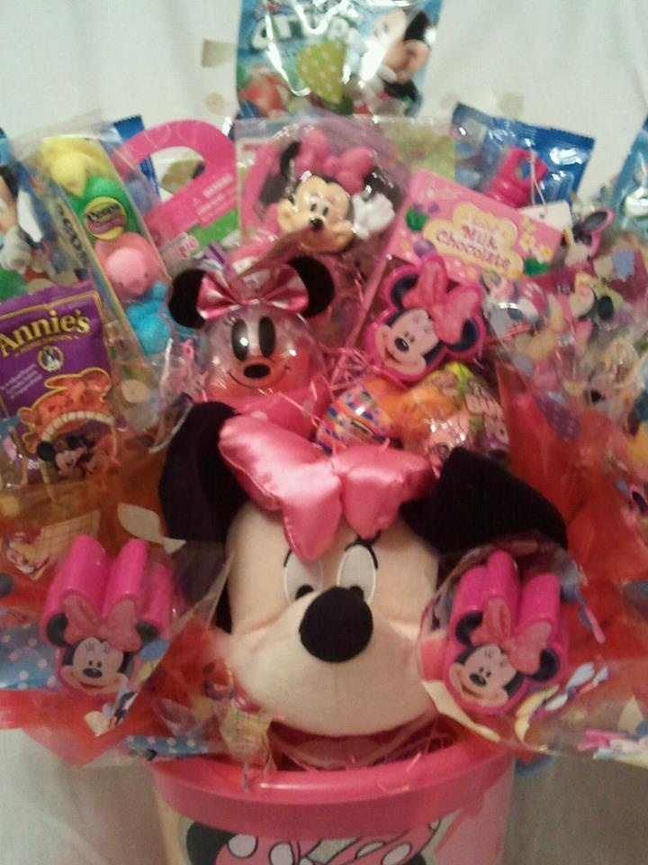 709 best easter images on pinterest easter easter baskets and minnie mouse easter basket bouquet delicatesweetcreations negle Choice Image