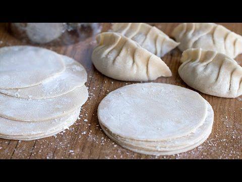 Como hacer Pasta para Gyoza, Empanadillas Chinas y Dumplings| Masa para empanadillas - YouTube