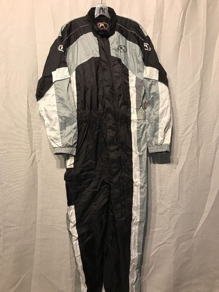 fieldsheer suit phoslite nylon motorcycle rain suit black gray size M  | eBay