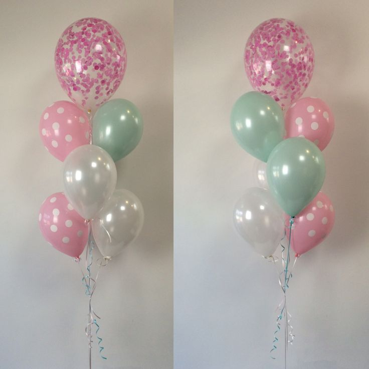 39 best images about confetti balloons on pinterest for Balloon decoration color combinations
