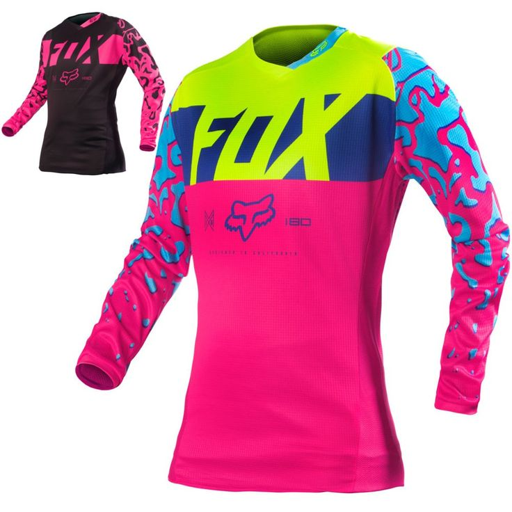 Fox Racing 180 Kids Girls Off Road Dirt Bike Racing Motocross Jerseys