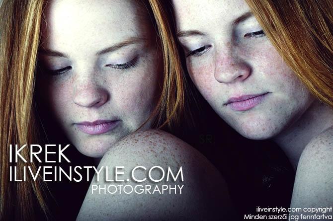 Ikrek Elite Model - Roland Sarkadi Photography & Copyright