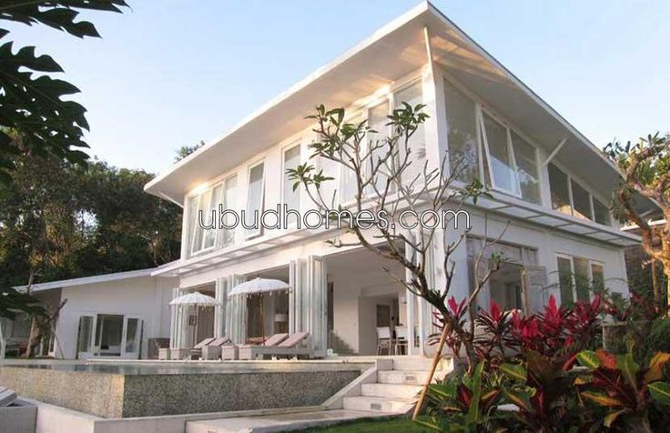 Luxury Home with 6 Bedrooms and Fantastic View in Ubud pool living room Bali market property sale
