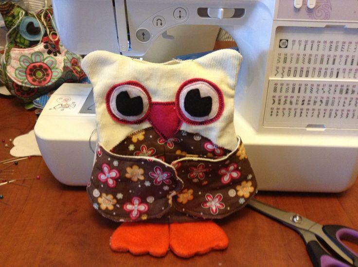 """Hoot"" Owl Sewing Buddy!"