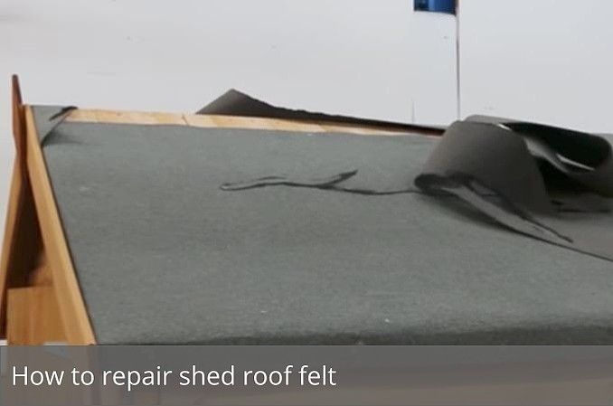 Awesome Shed Felt Repair Awesome Felt Repair Shed Shed Roof Felt Shed Roof Repair Shed Roof