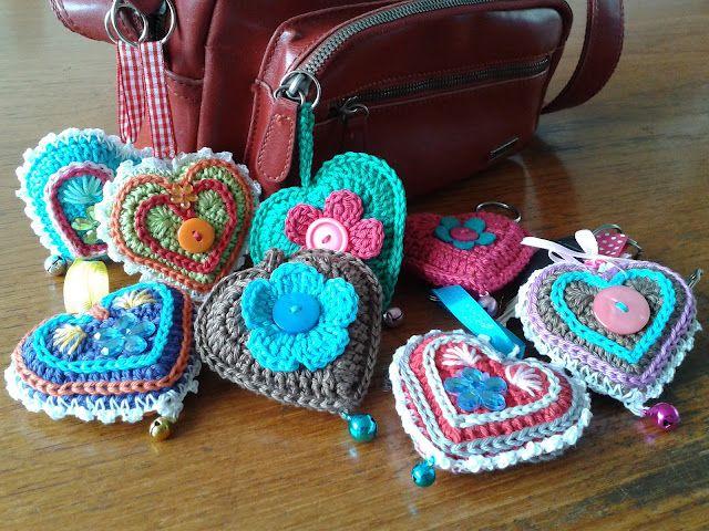 José Crochet: Free pattern ♥♥♥ HEART ♥♥♥