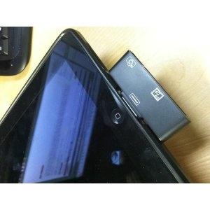 CF Card Reader Compact Flash Card Adapter for Apple iPad & iPad 2