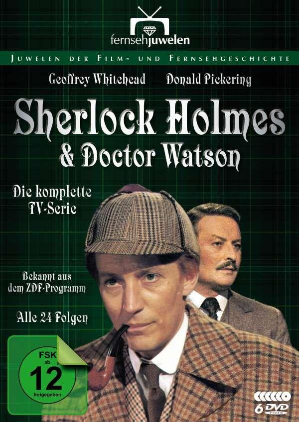 Sherlock Holmes und Dr. Watson (Komplettbox), 4 DVDs