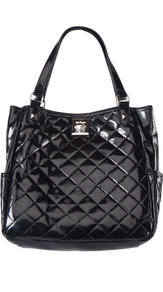 Black Shop Around Tote by Kenneth Cole REACTIONNice Bags, Clothes'S Shoese Accessories, Clothes'S Shoese Purses, Reaction Repin By Pinterest, Handbags Purses Tots, Black Shops, Purses Bags, Cole Reaction Repin, Quilt Bags