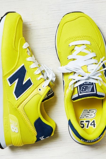 Yes to yellow!  New Balance Sneakers