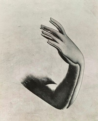 Pierre Boucher Solarized arm and hand (1933)