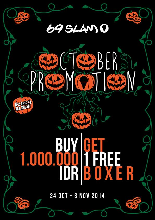 HALLOWEEN PROMOTION 2014_MY COLLECTION ARTWORK