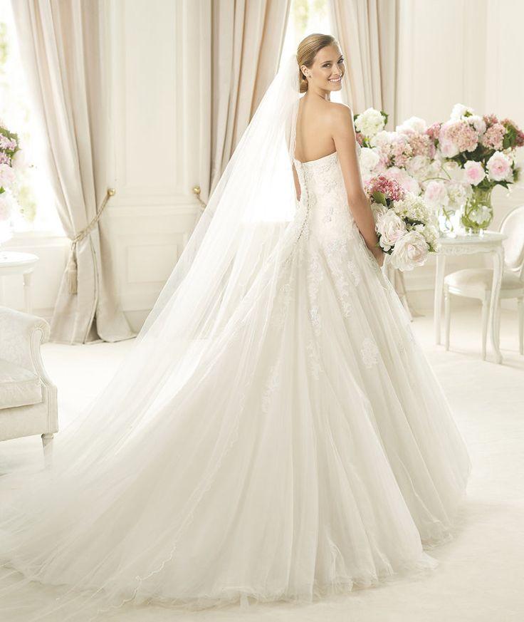 32 best Vestidos de Novia images on Pinterest | Wedding frocks ...