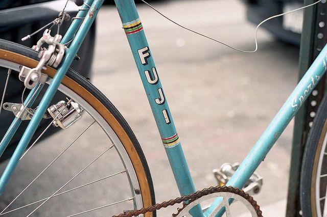 Classic Fuji Bike (on Kodak Film)
