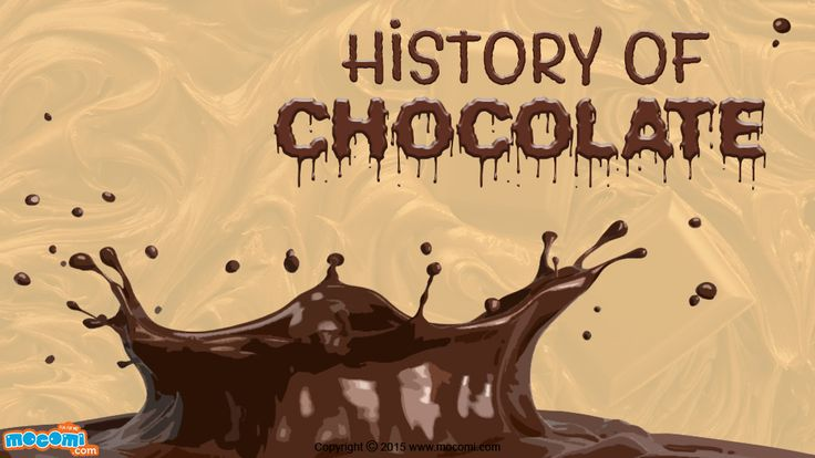 Read the complete history of chocolate - discovery, popularity and facts. For more GK articles for kids, visit: http://mocomi.com/learn/general-knowledge/