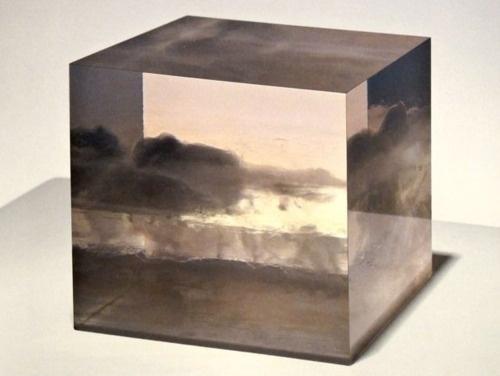 Peter Alexander. Small Cloud Box.: Sculpture, Peter O'Toole, Cloudbox, The Artists, 1966, Cloud Boxes Pet, Small Cloud, Peter Alexander Resins, Alexander Small