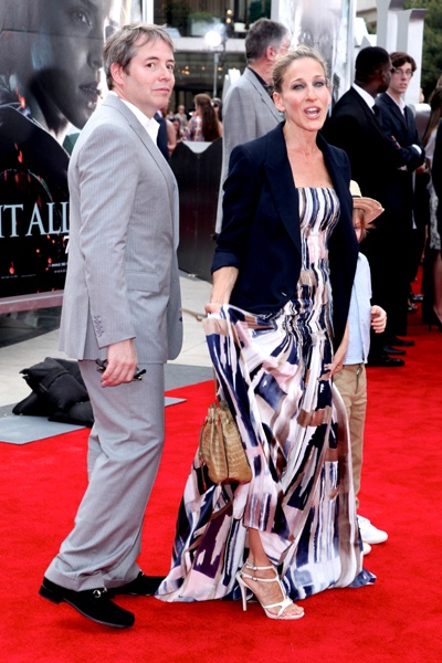 Sarah Jessica Parker brings her son to Harry Potter premiere