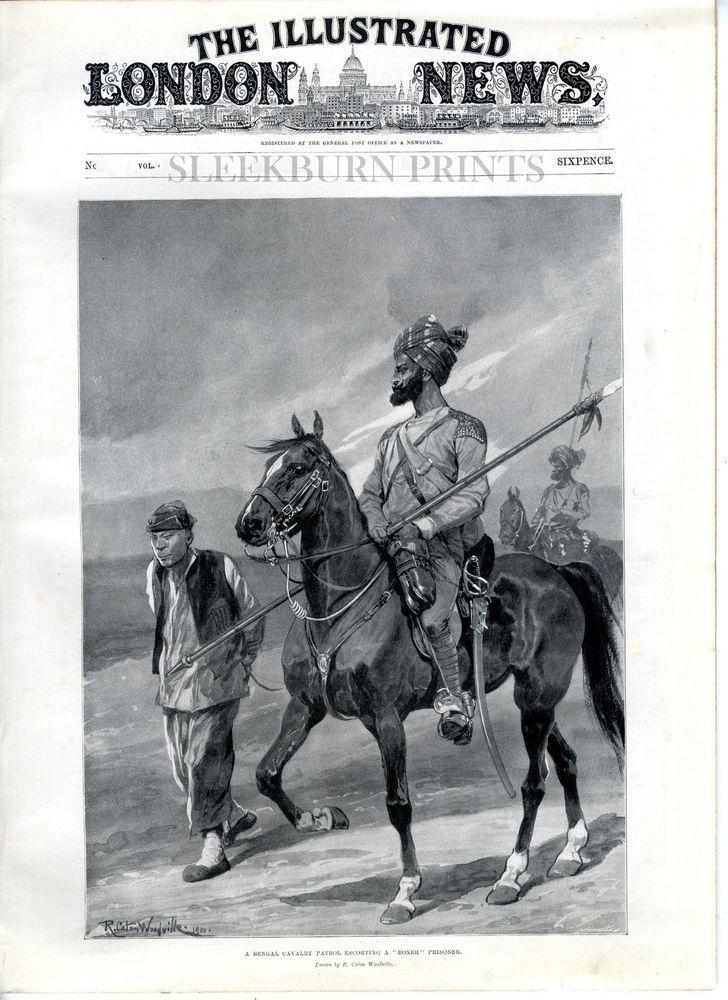 1900 ILLUSTRATED LONDON NEWS Texas BOER WAR China Conflict KANSAS FIREMEN (4023