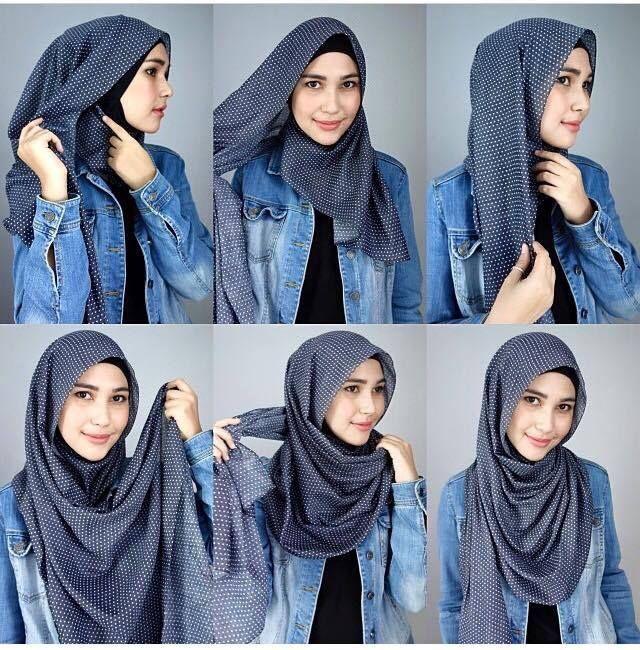 tutorial hijab phasmina simple yang tak kalah simple dari yang sebelumnya. Model kali ini anda bisa memakai jenis hijab phasmina yang bermotif.