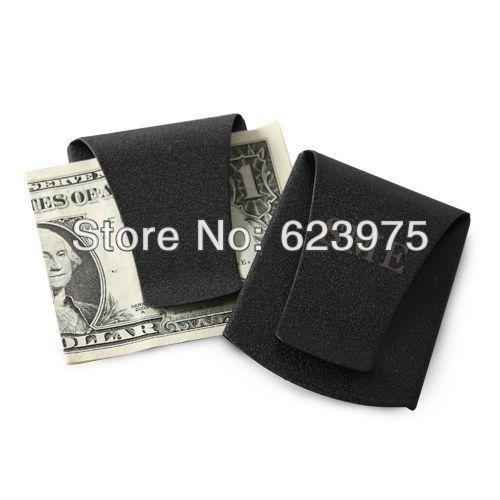 Katemelon персонализированные свадебной и подарки из нержавеющей стали зажим для денег - матовый черный ( комплект из 4 шт. индивидуально подарочные коробке )