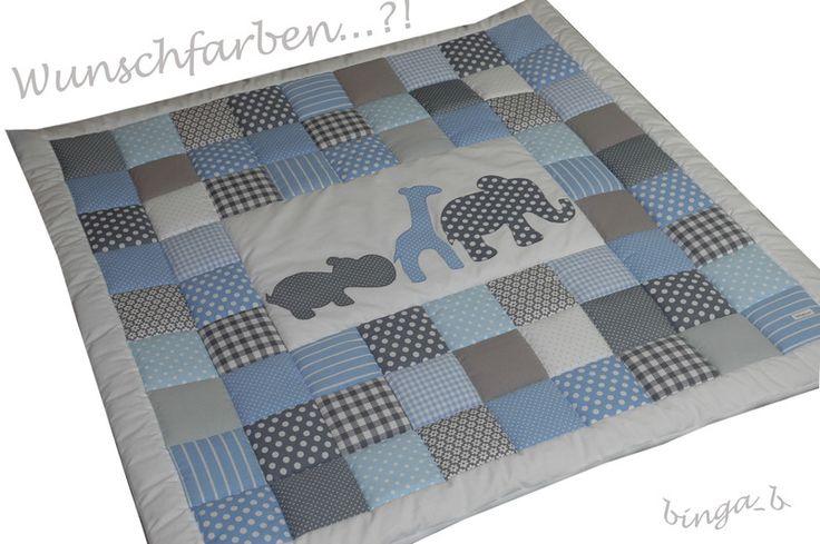 ♥Krabbeldecke:+Auf+Safari♥+von+binga-b+auf+DaWanda.com