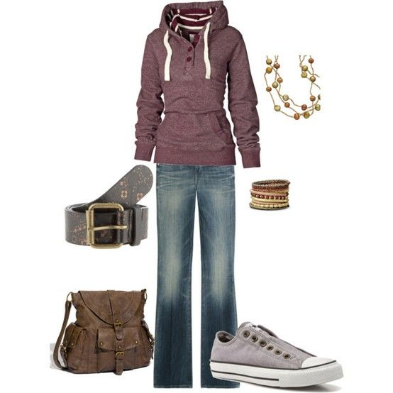 Comfy and cute: Weekend Outfit, Fashion, Dream Closet, Clothes, Clothing, Purple Hoodie, Comfy Outfit, Casual Outfits, My Style