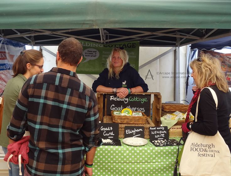 Plenty of opportunities to taste and buy from Fielding Cottage.