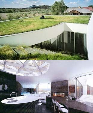 17 best images about earth sheltered homes on pinterest for Modern underground home designs