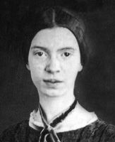 """Emily Dickinson - """"The soul should always stand ajar, ready to welcome the ecstatic experience."""""""
