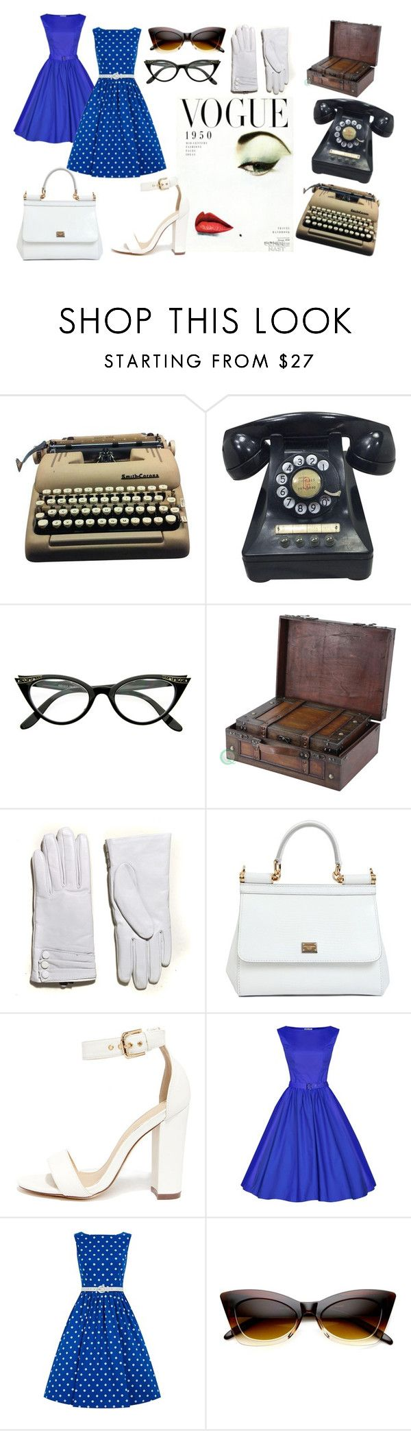 """""""Vintage..."""" by ritty18 on Polyvore featuring Dasein, Dolce&Gabbana, Liliana, vintage, women's clothing, women, female, woman, misses and juniors"""