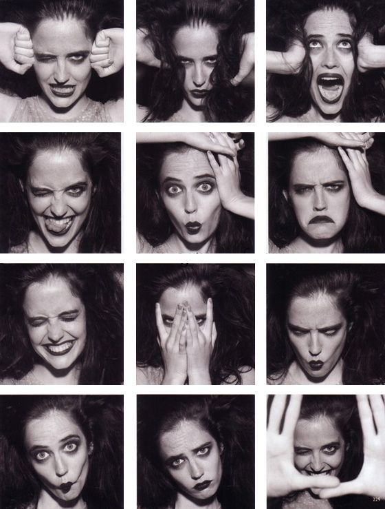 Eva Green expressions ✤ || CHARACTER DESIGN REFERENCES | キャラクターデザイン • Find more at https://www.facebook.com/CharacterDesignReferences: