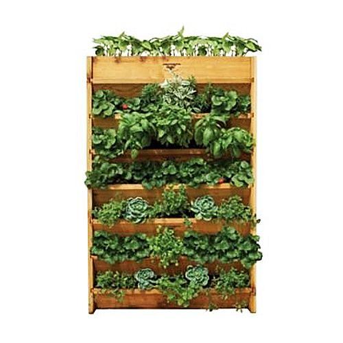 Cedar Vertical Garden Planter