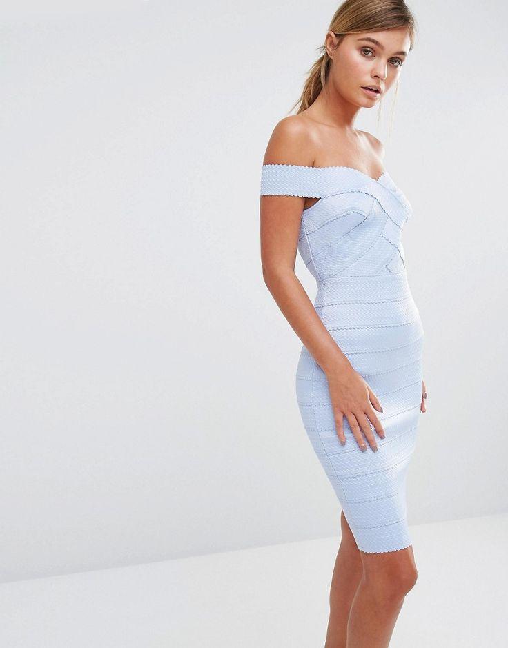 New+Look+Bandage+Bardot+Bodycon+Dress