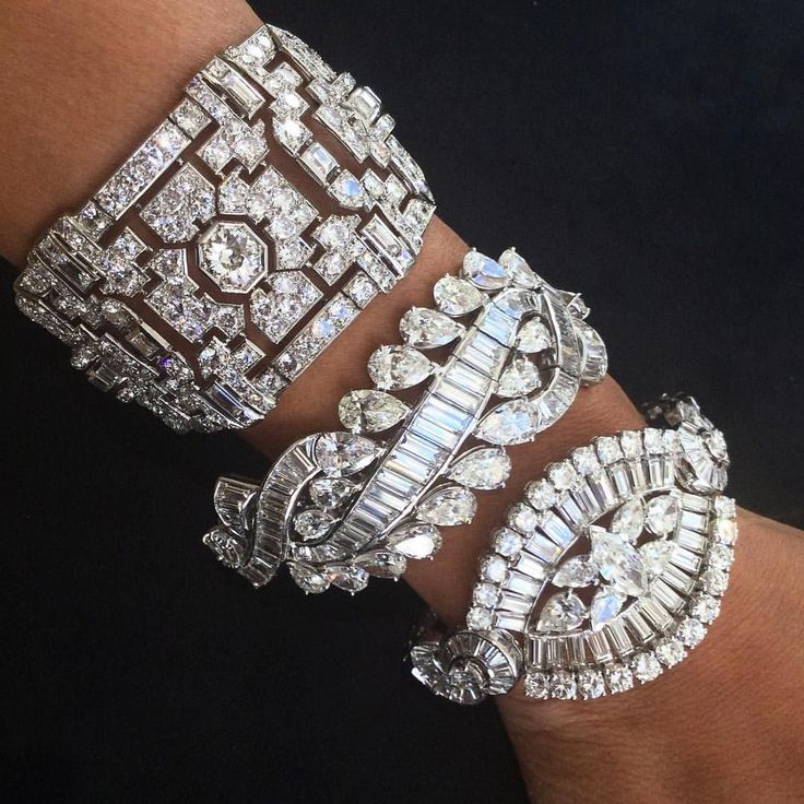 Diamond bracelets! OMG!!! Too much of a good thing I would use daily!!! No matter What!!! SLVH ♥♥♥♥
