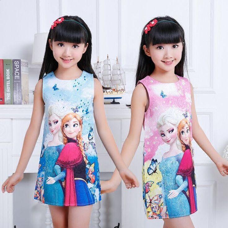$8.59 (Buy here: https://alitems.com/g/1e8d114494ebda23ff8b16525dc3e8/?i=5&ulp=https%3A%2F%2Fwww.aliexpress.com%2Fitem%2F2016-Summer-children-s-clothing-girls-dresses-elsa-princess-dress-for-girl-snow-Queen-infant-kids%2F32709902453.html ) 2016 Summer children's clothing girls dresses elsa princess dress for girl snow Queen infant kids costume party baby clothes for just $8.59