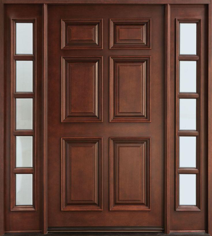 Oak Six Panel Interior Doors