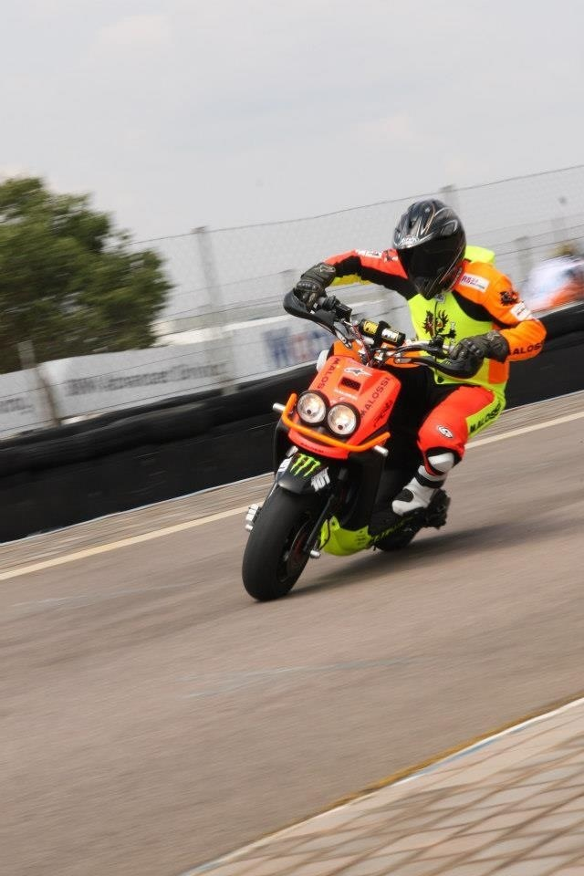 "New Malossi race leathers"""